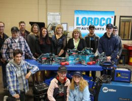 Pitt Meadows Secondary Donation by Lordco